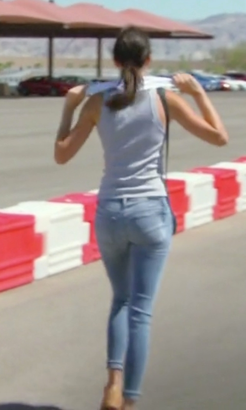 Kendall Jenner with RtA Denim Icon Distressed Skinny Jeans in Keeping Up With The Kardashians