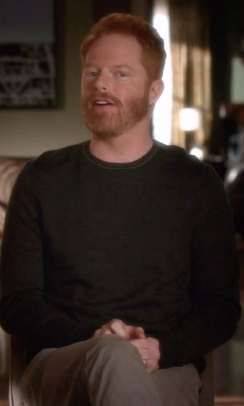 Jesse Tyler Ferguson with J. Lindeberg  Crew Neck Kashmerino Sweater in Modern Family