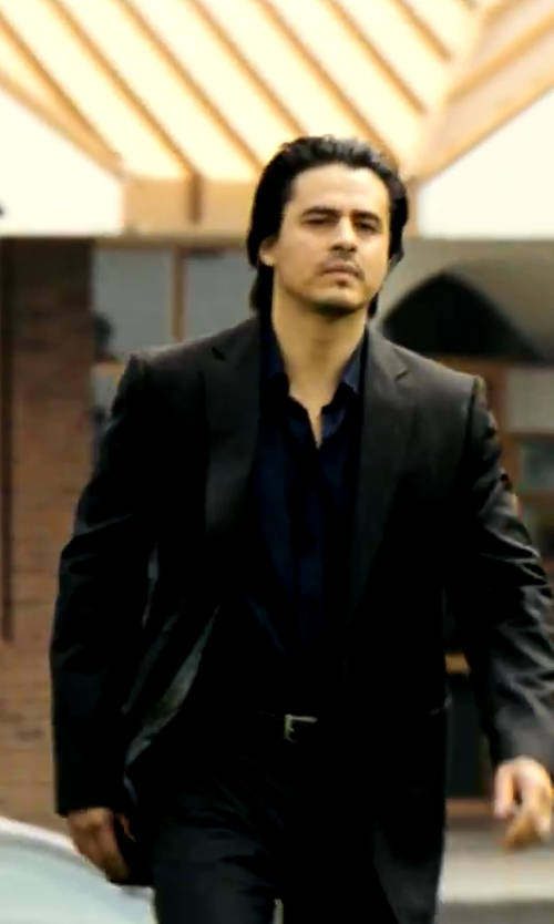 Antonio Jaramillo with Giorgio Armani Classic Suit in Savages
