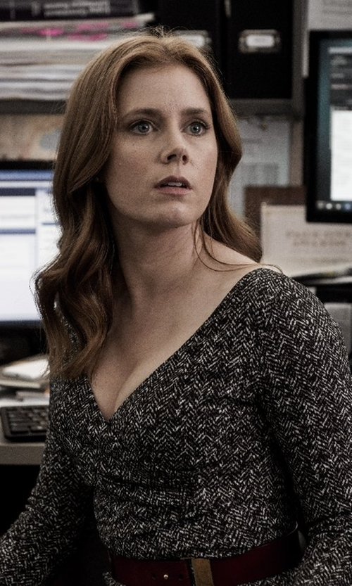 Amy Adams with Diane Von Furstenberg Celia Dress in Batman v Superman: Dawn of Justice