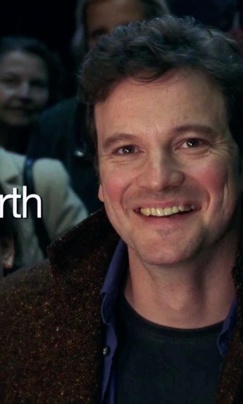 Colin Firth with Kenneth Cole New York Zip Out Car Coat in Love Actually