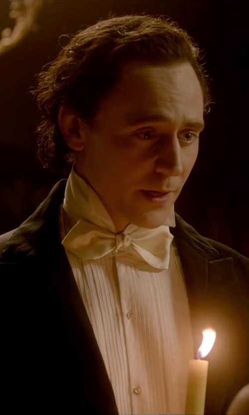 Tom Hiddleston with Gentleman's Emporium Two Piece Tailcoat Tuxedo Suit in Crimson Peak