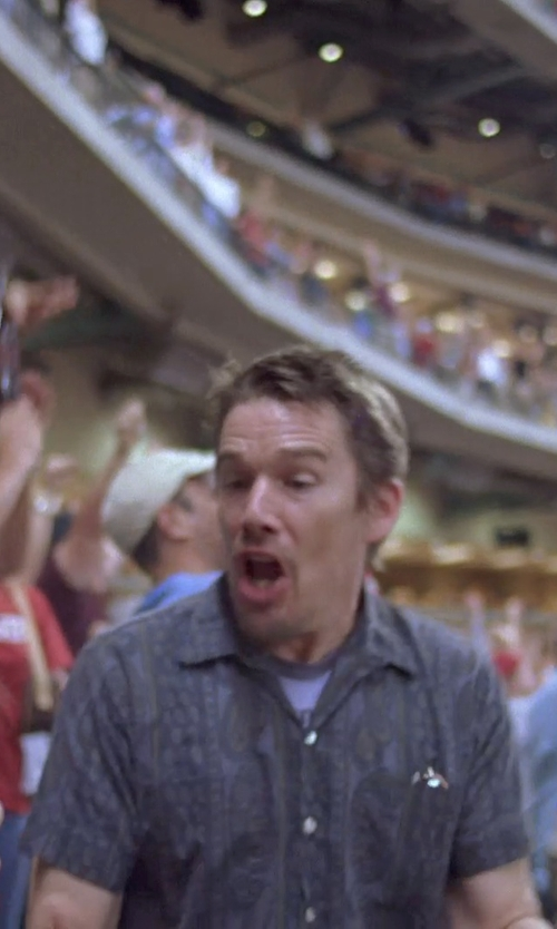 Ethan Hawke with Front Street Duke Paisley Sport Shirt in Boyhood