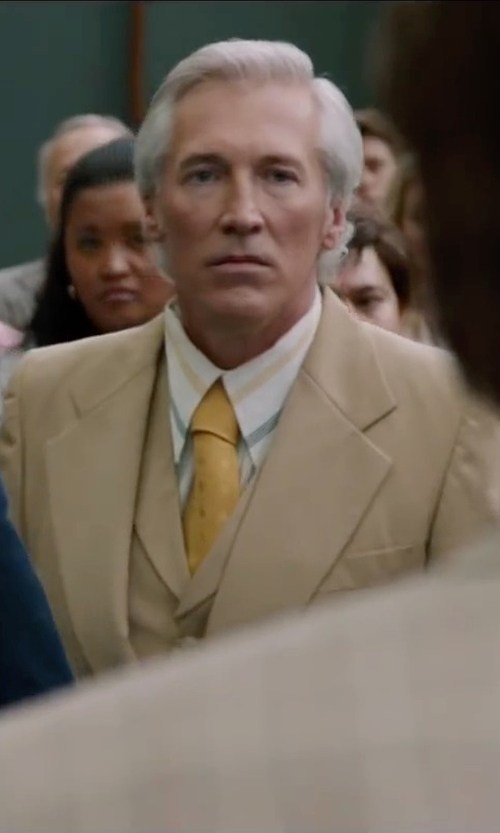 Fred Galle with Giorgio Fiorelli Mens Suit 2 Button 3 Piece Modern Fit in Anchorman 2: The Legend Continues