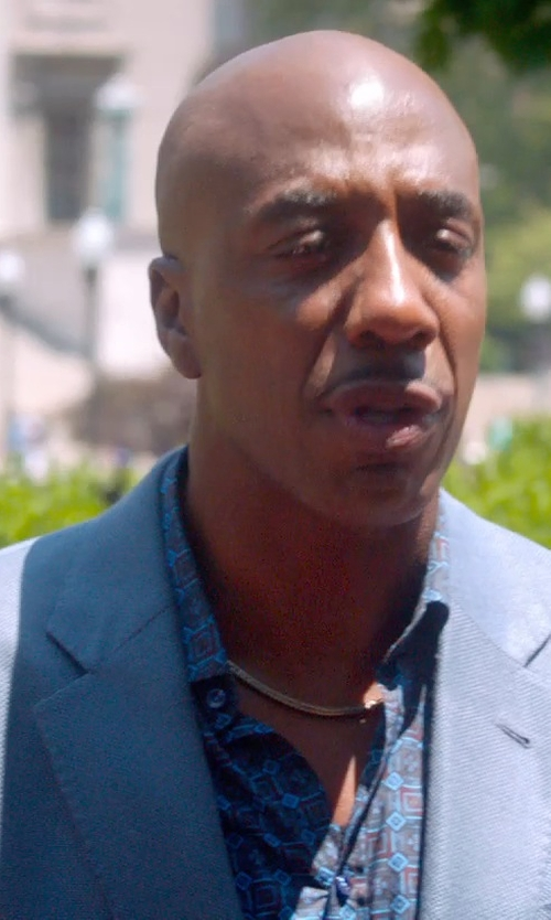 J.B. Smoove with Melindagloss Tailored Blazer in Top Five