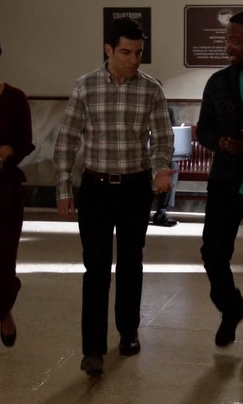 Max Greenfield with Ben Sherman Myers Oxford Shoes in New Girl