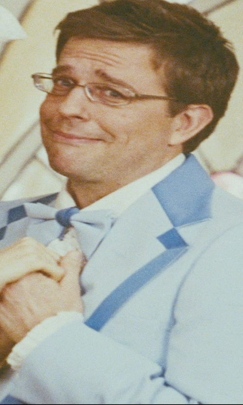 Ed Helms with Countess Mara Solid Pre-Tied Bow Tie in The Hangover