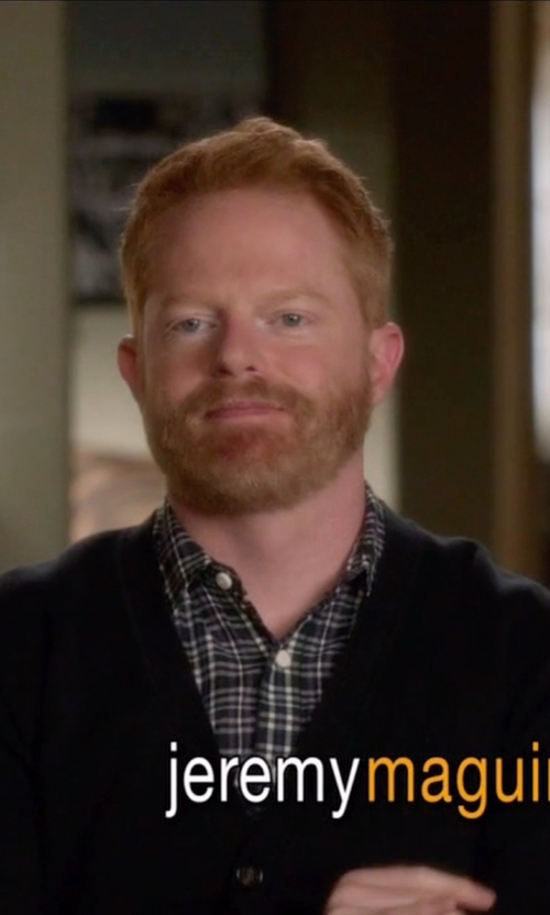 Jesse Tyler Ferguson with Paul Smith Jeans Tailored-Fit Shirt in Modern Family