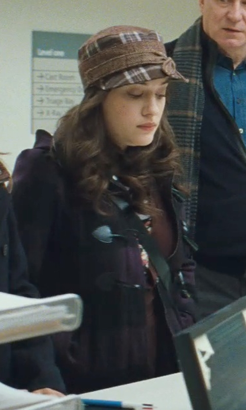 Kat Dennings with Creswick Duffle Coat in Thor