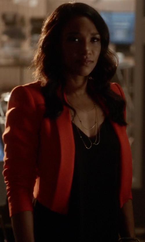 Candice Patton with Club Monaco Kendyl Cami in The Flash