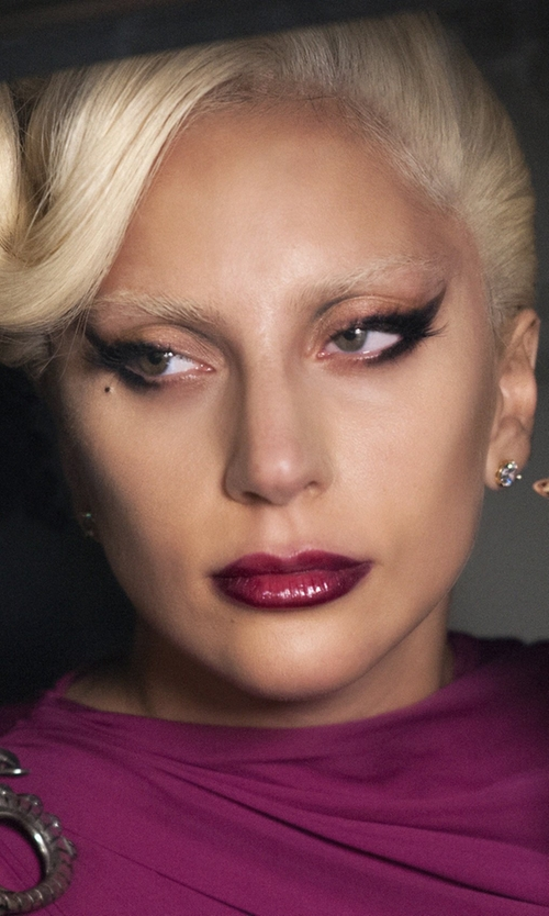 Lady Gaga with Hoorsenbuhs Diamond Stud Earrings in American Horror Story