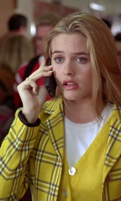 Alicia Silverstone with Pandora 'One Love' Heart Stone Ring in Clueless