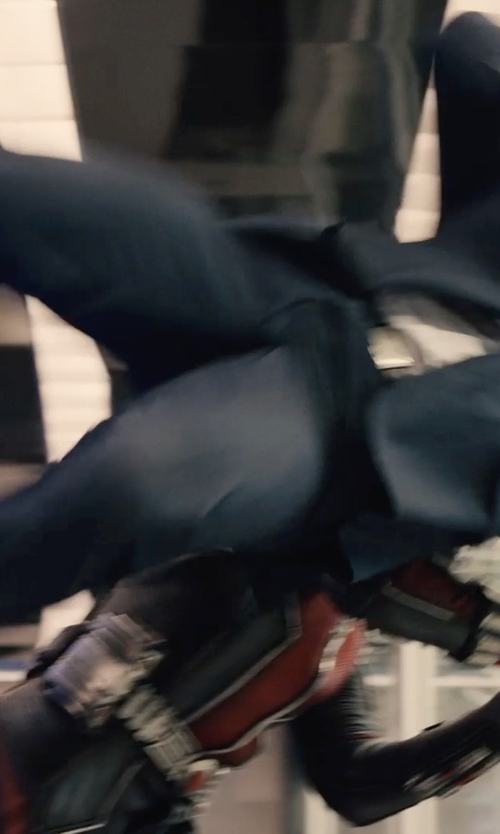 Unknown Actor with Boss Hugo Boss 'Huge/Genius' Trim Fit Navy Wool Suit in Ant-Man