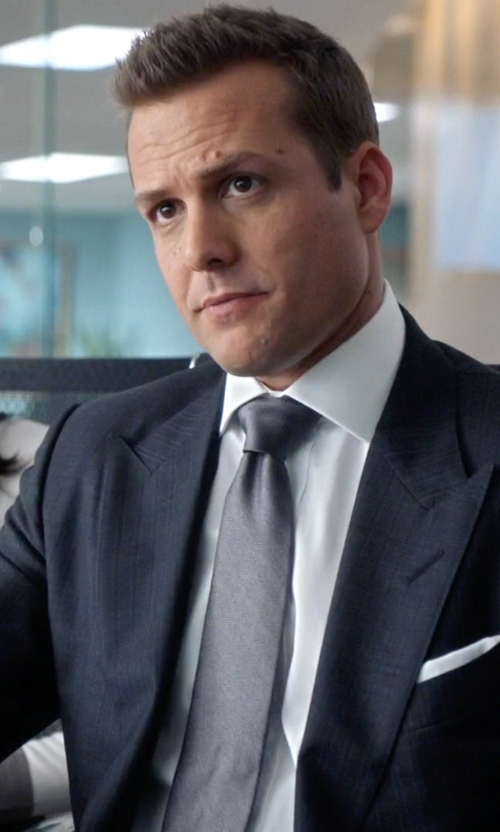Gabriel Macht with Michael Michael Kors Multi-Striped Suit in Suits