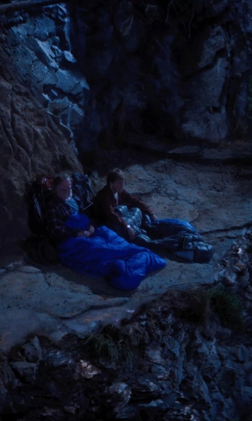 Nick Nolte with Marmot Helium Sleeping Bag in A Walk in the Woods