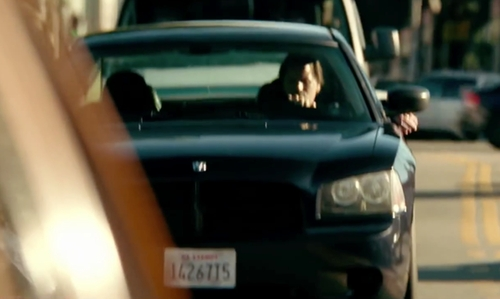 Unknown Actor with Dodge Charger Sedan in Taken 3