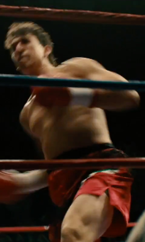Miles Teller with Title Boxing Force Fight Shorts in Bleed for This