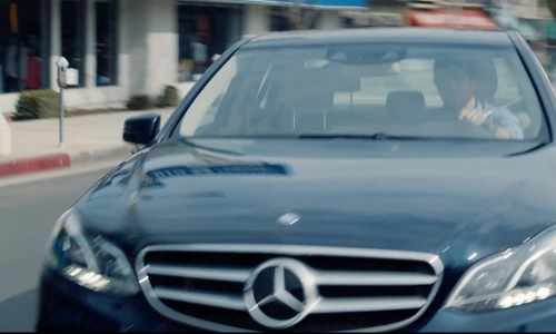 Jason Bateman with Mercedes-Benz E400 Sedan in The Gift