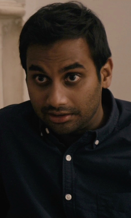 Aziz Ansari with RRL Classic Oxford Shirt in Master of None