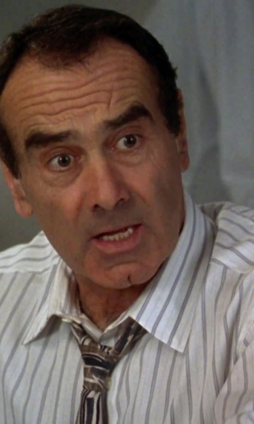 Dan Hedaya with Vince Camuto Zoe Stripe Tie in Clueless