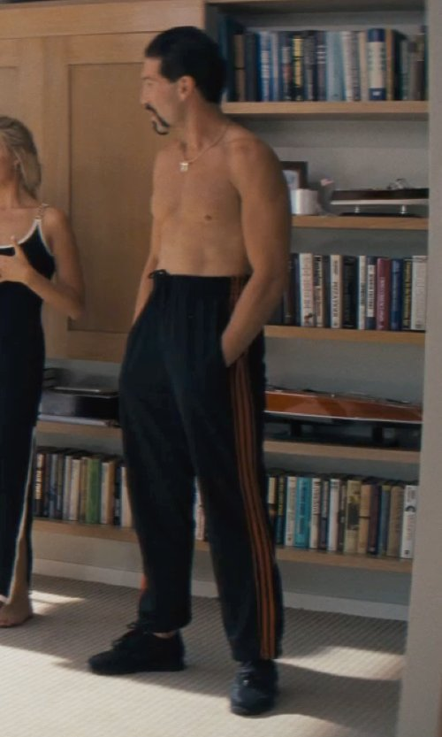 Jon Bernthal with adidas VC Post Game Training Pants in The Wolf of Wall Street