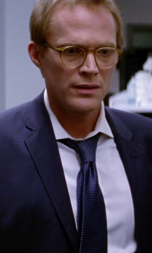 Paul Bettany with Anto Beverly Hills Custom Made Dress Shirt in Transcendence