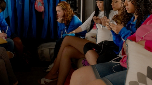 Brittany Snow with Keds Champion Eyelet Sneakers in Pitch Perfect 2
