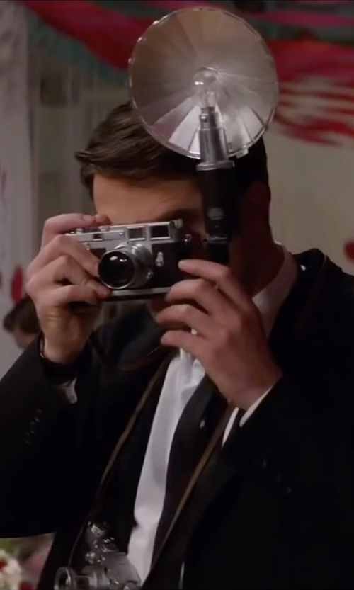 Robert Pattinson with Leica M3 Vintage Camera in Life