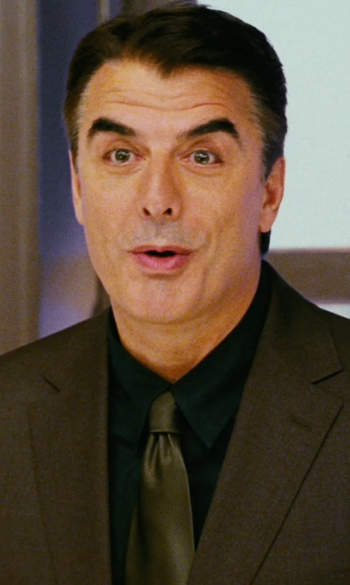 Chris Noth with Dolce & Gabbana Solid Twill Silk Tie in Sex and the City