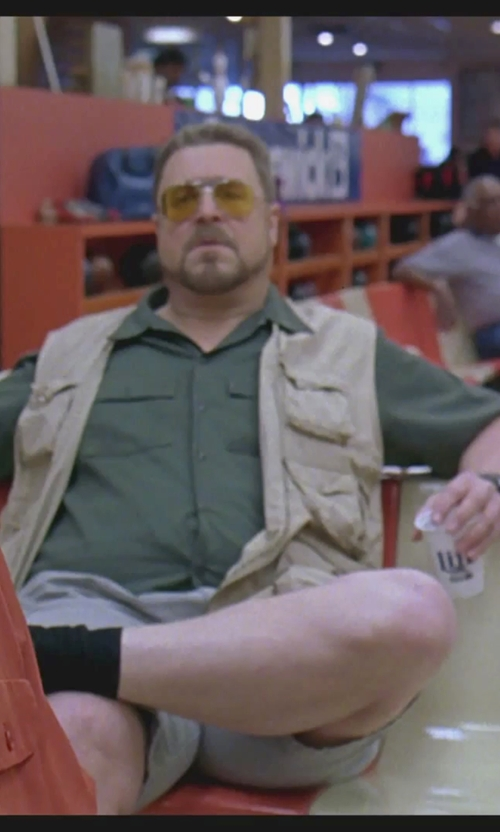 John Goodman with Casio Mens Triple Sensor Solar Watch in The Big Lebowski