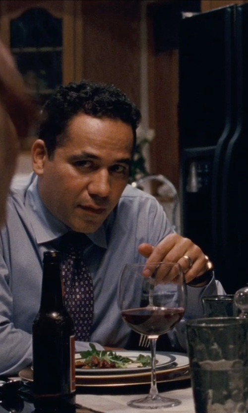 John Ortiz with Triton Tungsten Carbide Ring in Silver Linings Playbook