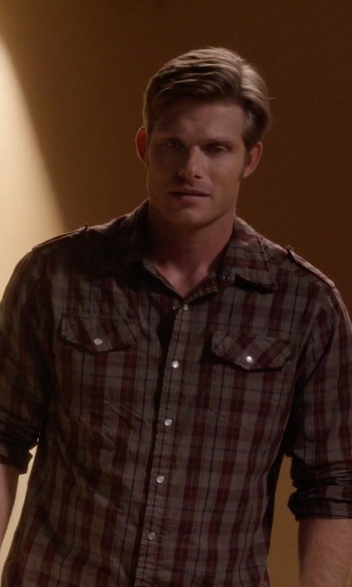 Chris Carmack with 7 Diamonds Plaid Sportshirt in Nashville