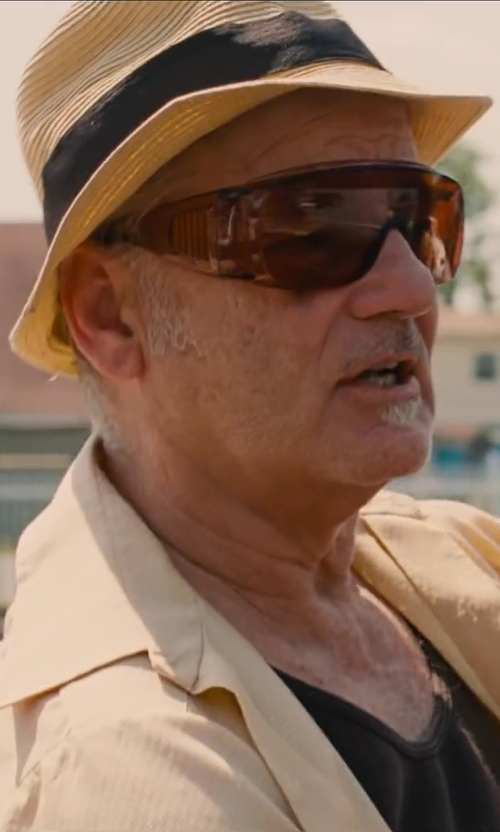 Bill Murray with Quiksilver Shooter Hat in St. Vincent
