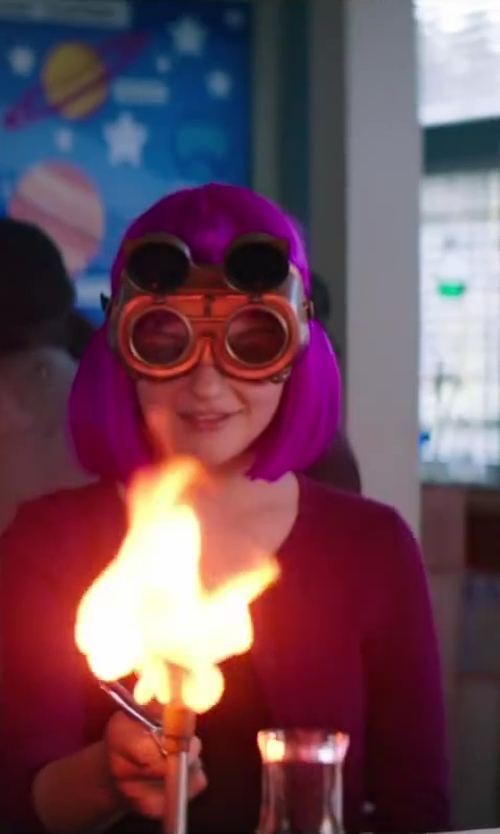 Joey King with Forney Goggles, Oxygen-Acetylene, Round Lens, Shade-5 in Wish I Was Here
