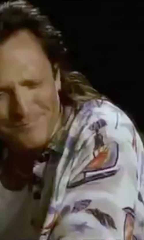 Michael Madsen with On The Byas Chewy Tropical Shirt in Kill Bill: Vol. 2