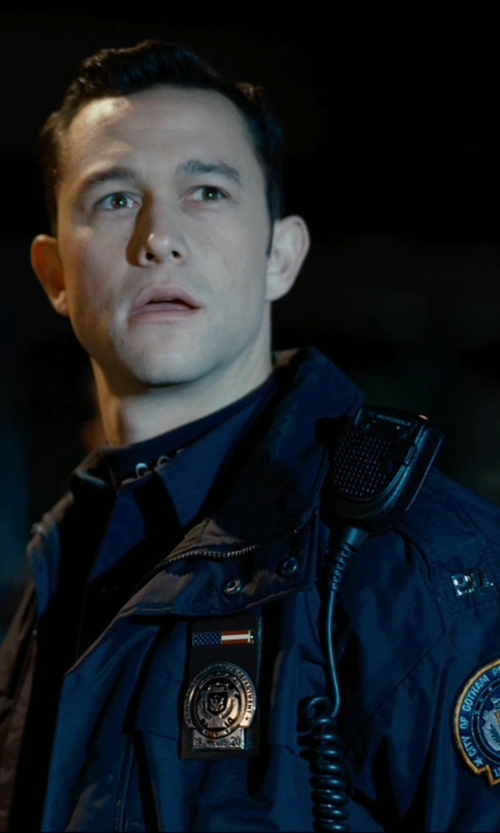 Joseph Gordon-Levitt with 5.11 Tactical Mens Class A Poly Rayon Short Sleeve Shirt in The Dark Knight Rises