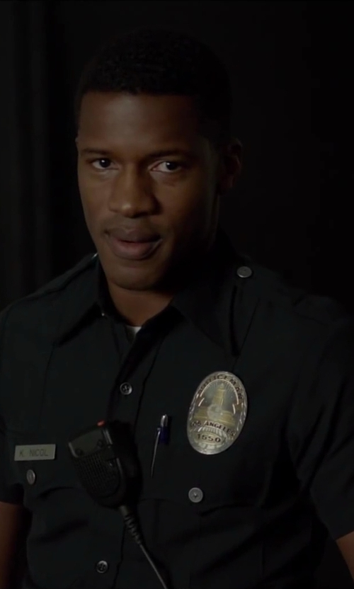 Nate Parker with 5.11 Tactical Men's Short Sleeve PDU Shirt in Beyond the Lights