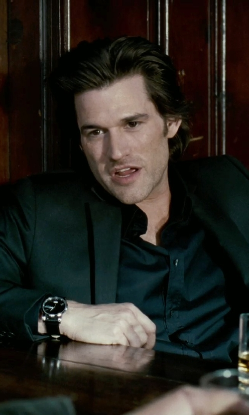Johnny Whitworth with Salvatore Ferragamo	 1898 Sport Watch in Limitless