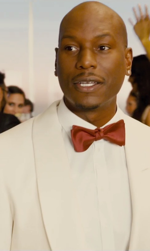 Tyrese Gibson with Tom Ford Made To Measure Dinner Jacket in Furious 7
