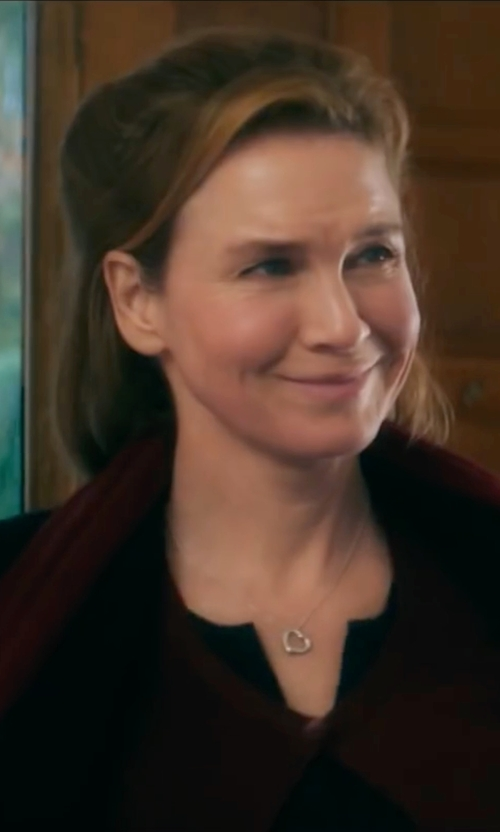 Renée Zellweger with Tommy Hilfiger Classic Walker Wool Coat in Bridget Jones's Baby