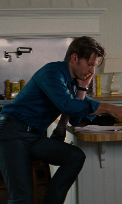 Nikolaj Coster-Waldau with Givenchy Star-studded Leather Belt in The Other Woman