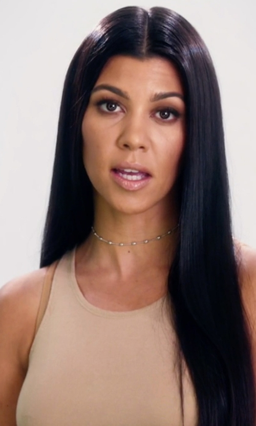Kourtney Kardashian with Wolford Individual Nature Forming Bodysuit in Keeping Up With The Kardashians