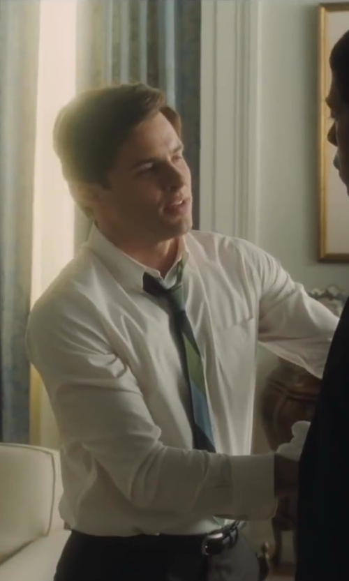 James Marsden with Steven Alan Pinpoint Oxford Classic Shirt in Lee Daniels' The Butler
