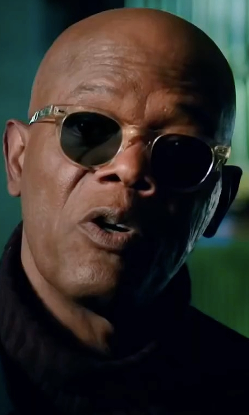 Samuel L. Jackson with Old Focals Icon Frames in xXx: Return of Xander Cage