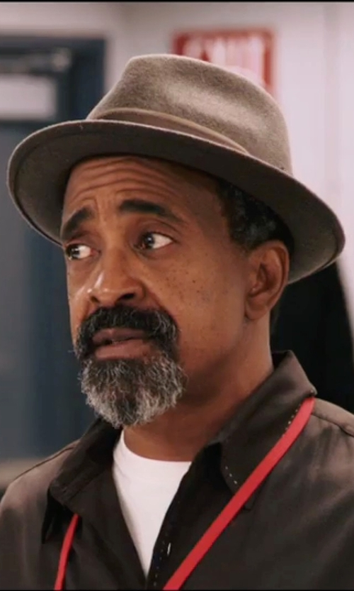 Tim Meadows with Brixton Swindle Fedora Hat in Popstar: Never Stop Never Stopping