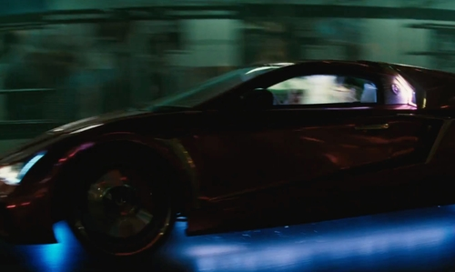 Jared Leto with Vaydor Infiniti G35 Coupe in Suicide Squad