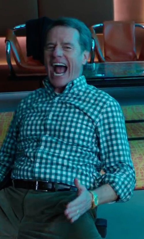 Bryan Cranston with Nixon Sentry Stainless Steel Watch in Why Him?