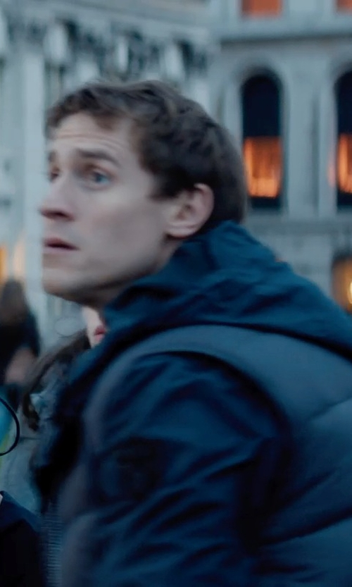 Jonathan Howard with Belstaff Headley Cotton Hoodie in Thor: The Dark World