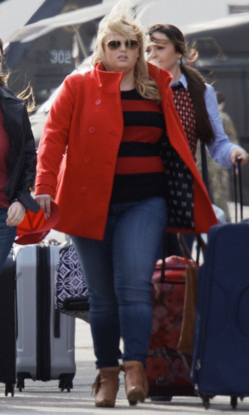 Rebel Wilson with Sam Edelman Louie Boots in Pitch Perfect 3