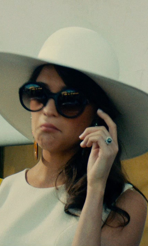 Alicia Vikander with Thierry Lasry Milfy 101 Sunglasses in The Man from U.N.C.L.E.